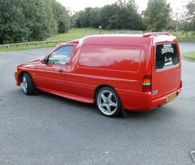 Ebay Fast Car Featured Escort Van