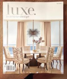 Luxe Interiors Design Magazine Cover Barry Dixon