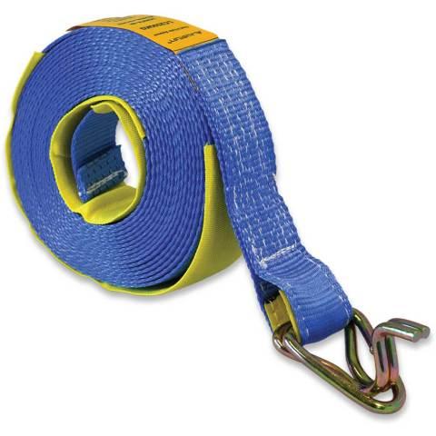 BELW Truck Winch Replacement straps Hook & Keeper