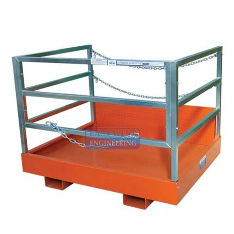 FGC15 Forklift Goods Cage Front