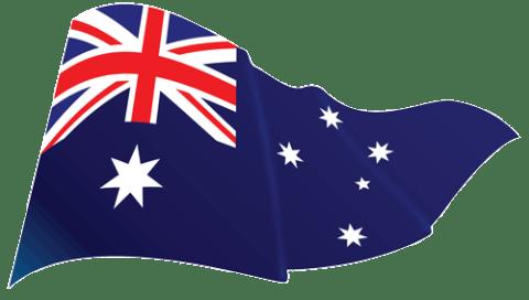 Australian Flag Flying