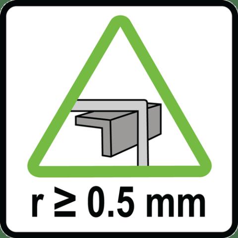 Sharp Edge Indicator