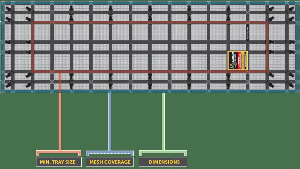 SXTN-200 XTRA Large Trade Net Diagram