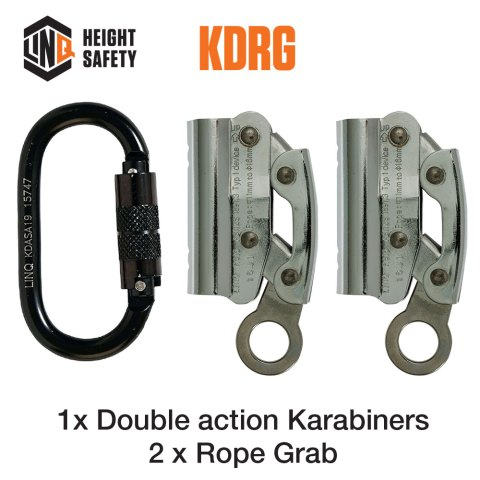 Double Adjustable Rope Lanyard Hardware KDRG