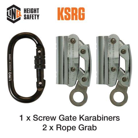 Double Adjustable Rope Lanyard Hardware KSRG