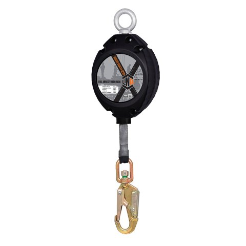 Self Retracting Webbing with swivel snap hook c/w overload indicator LOQ BLOQ with Load Indicator Snap Hook IRRWL600 THUMB