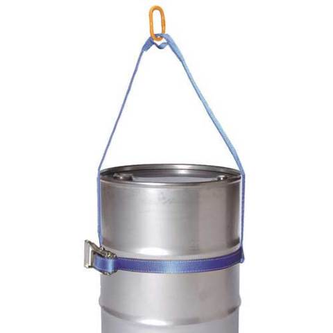 Drum Lifting Web Sling with Head Ring