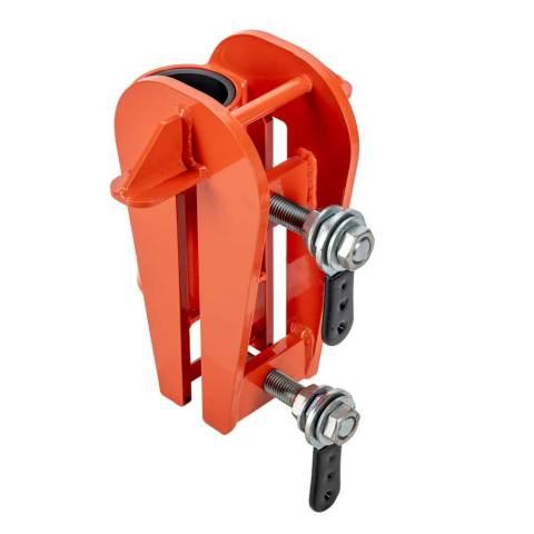 PRO-2 & 3 Series Sheet Piling Mount Base Adjustable Throat (0mm - 25mm)