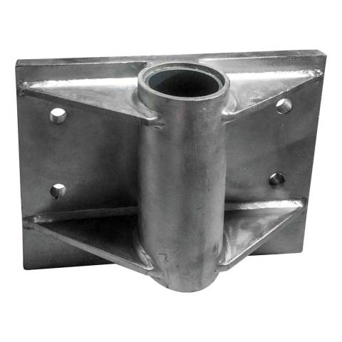 Wall Mount 4 point Stainless Steel
