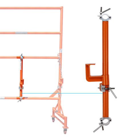 LJM101ORU Adjustable Clamping brace for 3.0m barriers