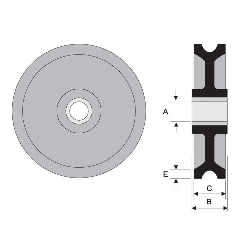 Sheave Wheels Spec Drawing