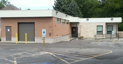 The beautiful new facility