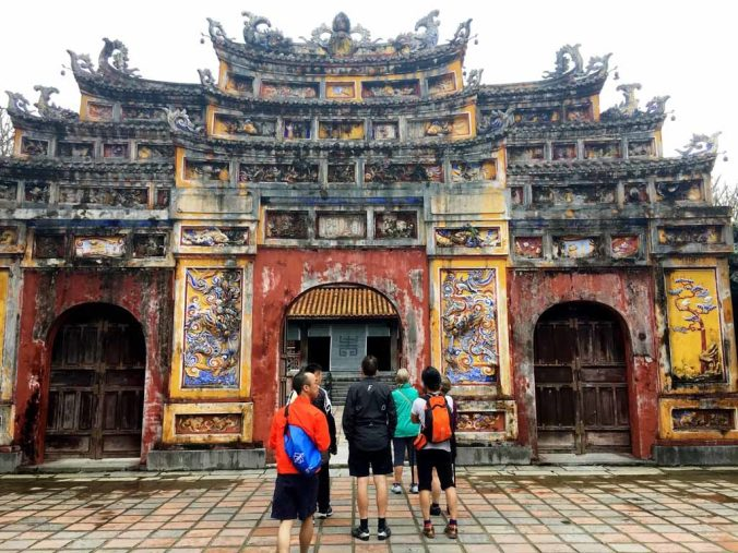 the Imperial City of Hue.