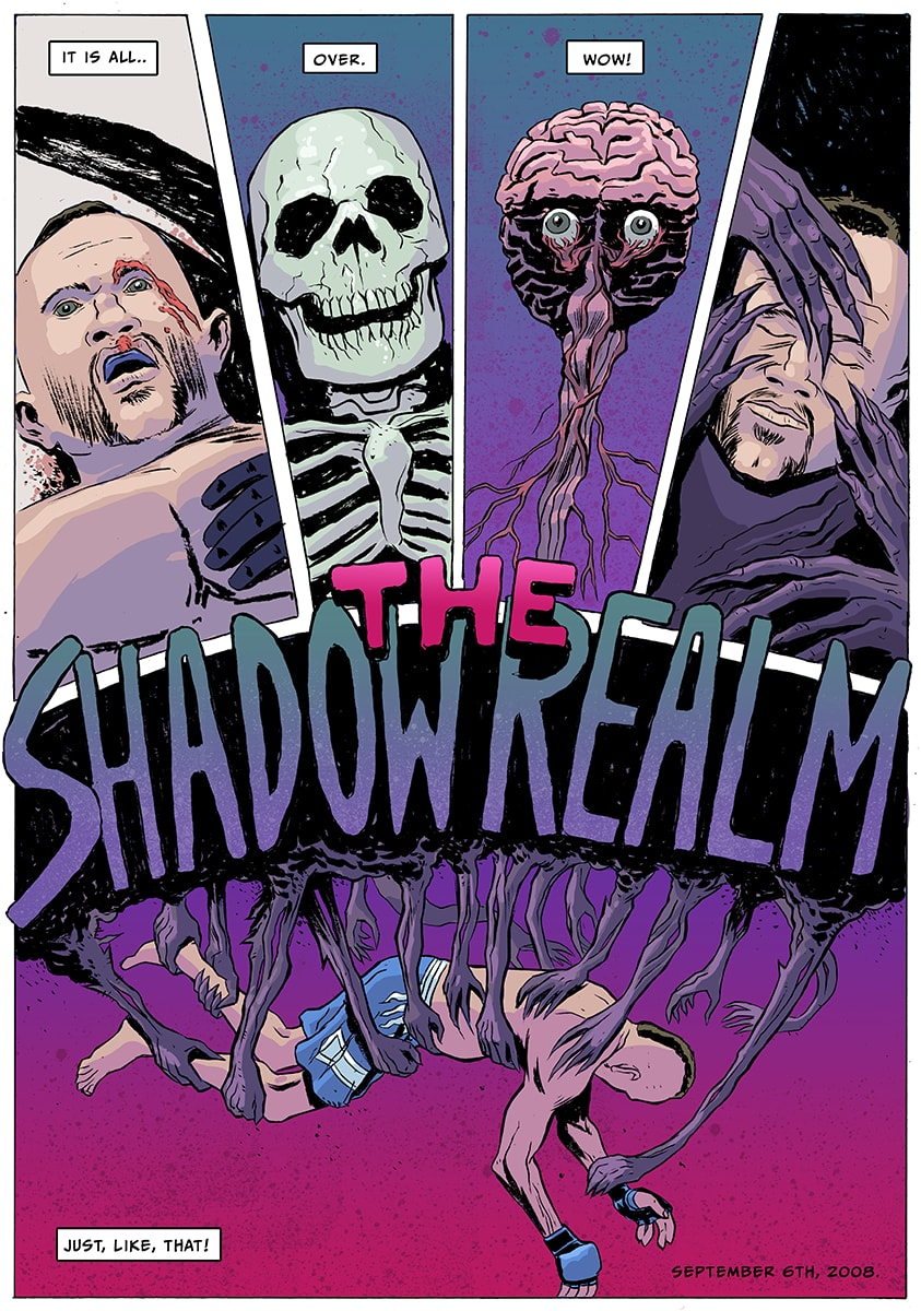 shadow-realm-01 You need to read this rawesome new MMA comic book 'The Shadow Realm'
