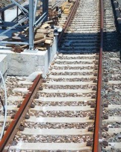 poor design example of train tracks