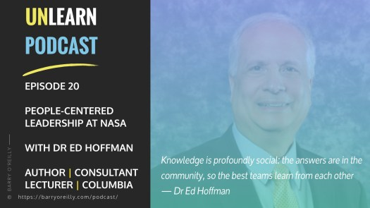 People-Centered Leadership at NASA with Dr. Ed Hoffman