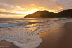 Beach Sunrise in Mozambique