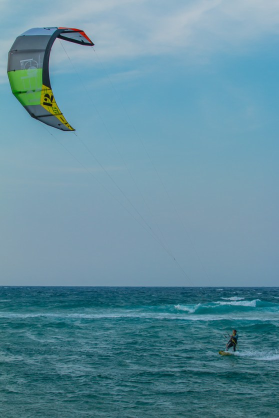 Kite Surfer and Kite