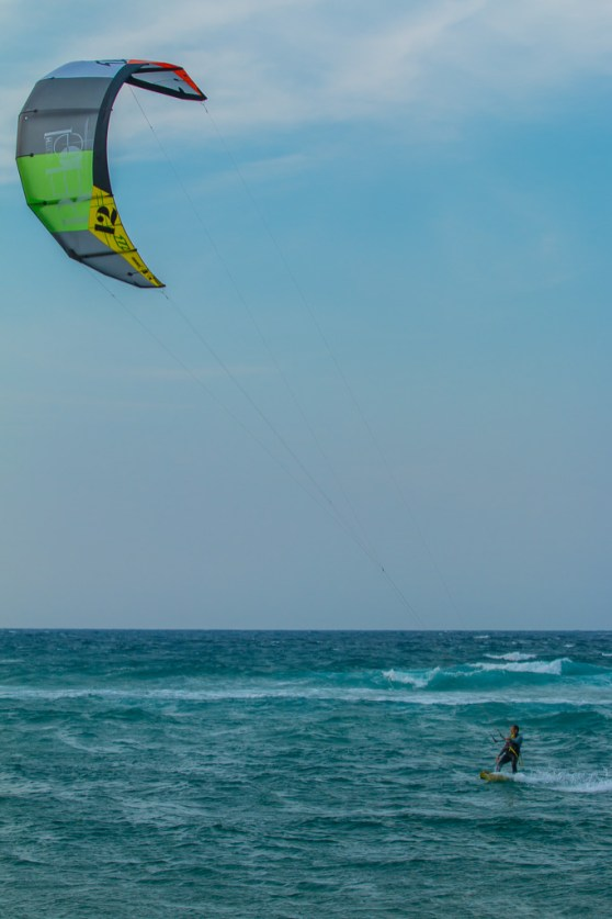 Kite Surfer and Kite