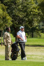 A Player Contemplates His Next Shot at The CGGU Norther Amateur