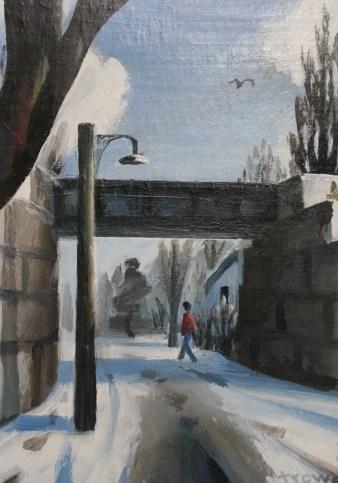 Gunn St. Winter by Barry Trower (1986).