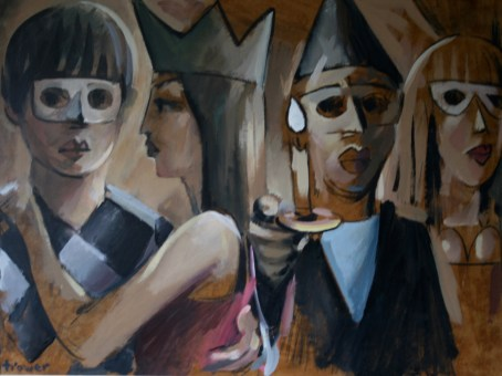Masquerade by Barry Trower (1990).