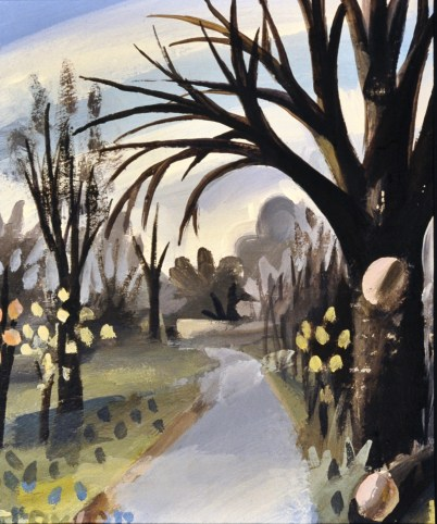 To the Mill, Autumn, by Barry Trower (1986).