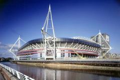 Wales Millennium Stadium (home of Welsh rugby)