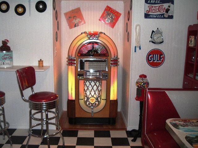 kitchen tables sets stainless steel cabinet danny's 50's room: diner booth set, table ...