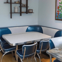 Kitchen Banquette Gel Mats Booth Seating: Island City, Retro, Kitchen, Home