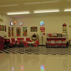 Pub Kitchen Table Island Pendant Lights Lewis-retro-garage-2.fw_ » Bars & Booths