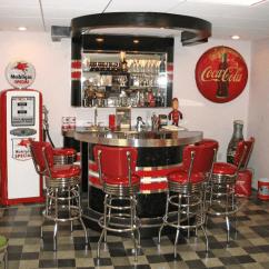 Free Kitchen Makeover Mosaic Designs For Backsplash Richard's Retro Home Bar - Barsandbooths.com