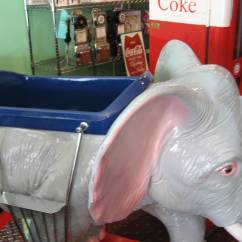Retro Cafe Dining Chairs Chair Design Ltd Elephant Kiddie Ride: Coin Operated, Restored, Original, Vintage