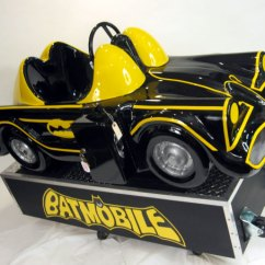 50's Kitchen Table And Chairs On A Budget Batmobile Ride: Coin Operated, Original, Restored, Kids ...