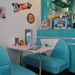 Metal Kitchen Table Sets Complete Outdoor Kits Hd Diner - Lille, France: 50s Retro Decor From Bars And Booths