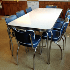 Retro Tables And Chairs Adirondack Chair Covers Kowalski Table 1950 S Cottage Kitchen