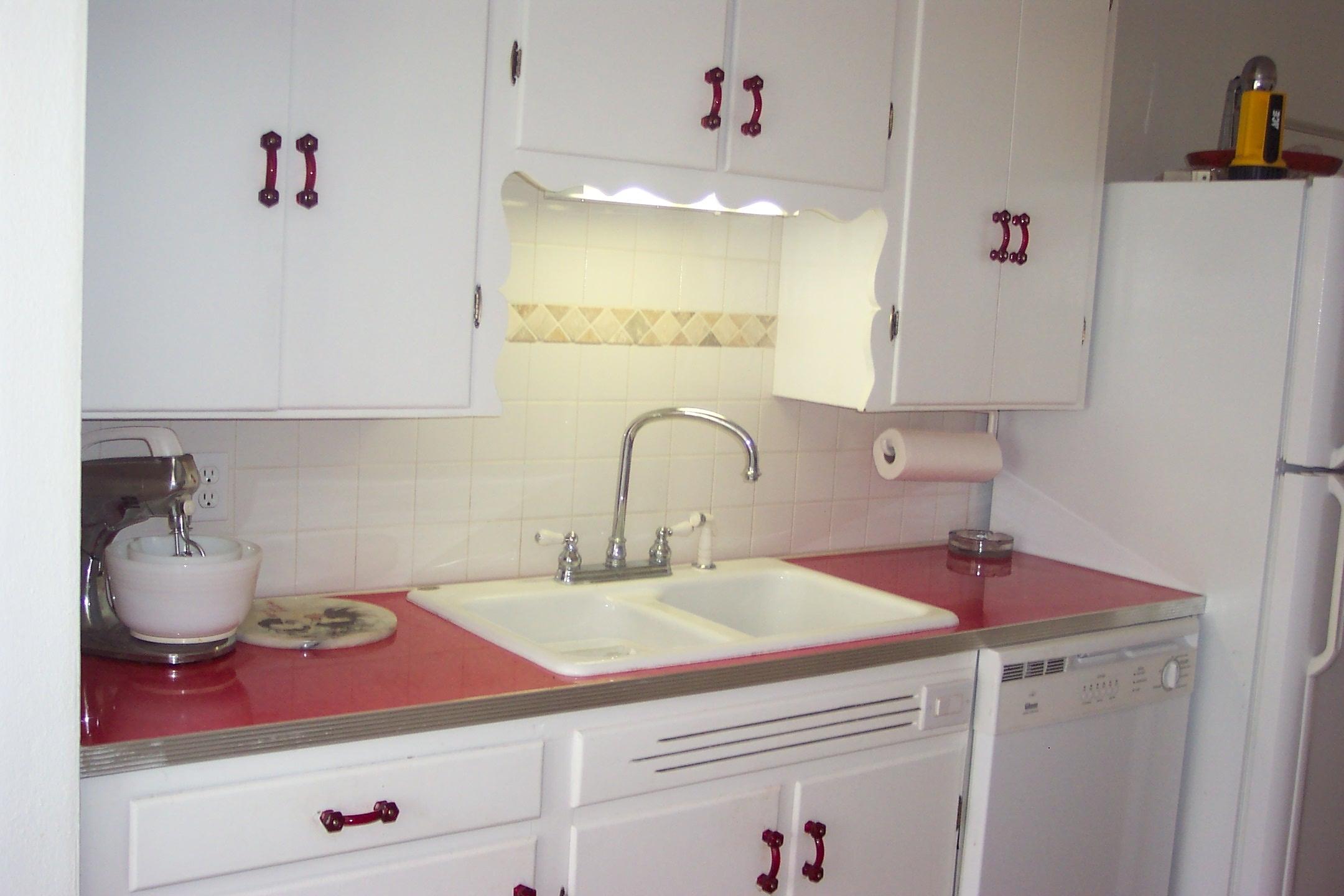Vintage Retro Kitchen Countertops