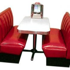 Circle Furniture Chairs Nerd Chair Muuto Diner Booth Sets - Retro Booths, 50s