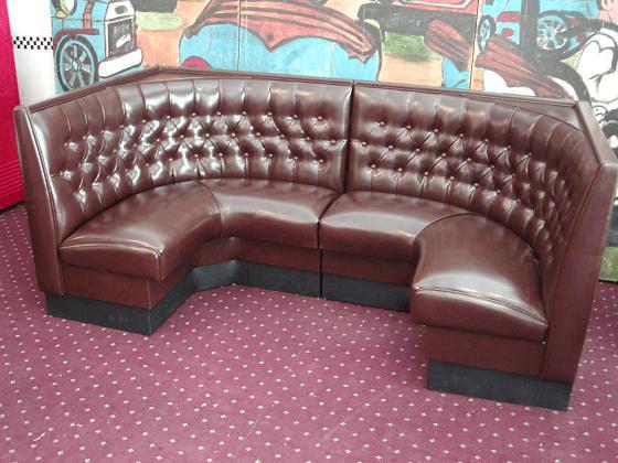 Serenade Series  HalfCircleDiner Booth in English Pub