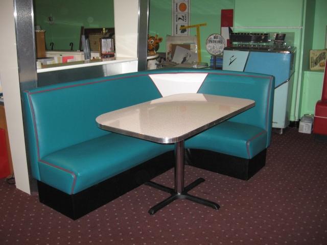 custom kitchen booth cushion mat l shaped diner booths restaurant 1950 s corner drug store