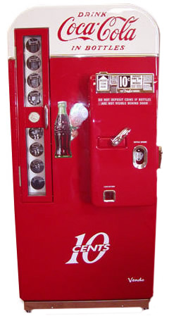 Retro Vintage Soda Machine Vendo Bars and Booths