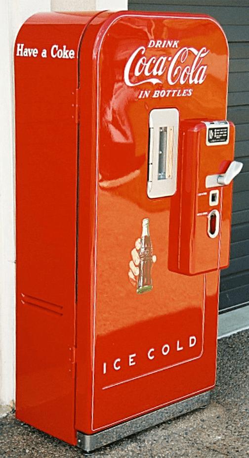 Vendo 39 Soda Machine  Bars  Booths