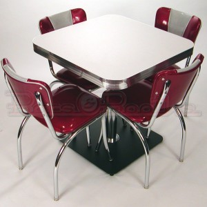 black square pub table and chairs ergonomic mesh chair singapore retro cafe seating: restaurant, home, chrome, diner,