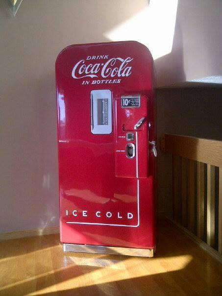 coca cola chairs and tables chair covers east london gary's soda machine bars booths retro