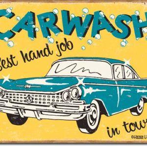 Moore - Carwash Tin Sign