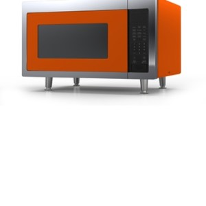 Big Chill Retro Microwave