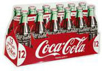Embossed 12-pack Coca-Cola Sign
