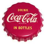 "Coca-Cola Button - ""In Bottles"""
