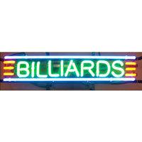 Billiards Neon Sign Big