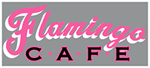 FLA-001 - Flamingo Cafe Decal
